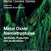 Metal Oxide nanostructures: Synthesis, properties and applications, Elsevier, ISBN 9780128115121